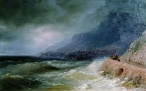 Айвазовский – творческий порыв