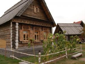 Как строили раньше настоящие русские избы?