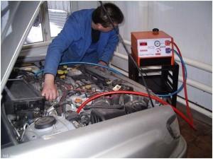 Промывка системы автомобильного кондиционера